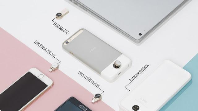 i.dime Tawarkan Penyimpanan Eksternal iPhone Hingga 256GB, Hanya Sebesar Koin