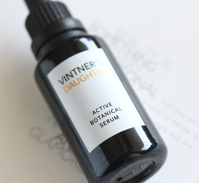 Vintner's Daughter Active Botanical Serum Review,  Vintner's Daughter Serum,  Vintner's Daughter Review