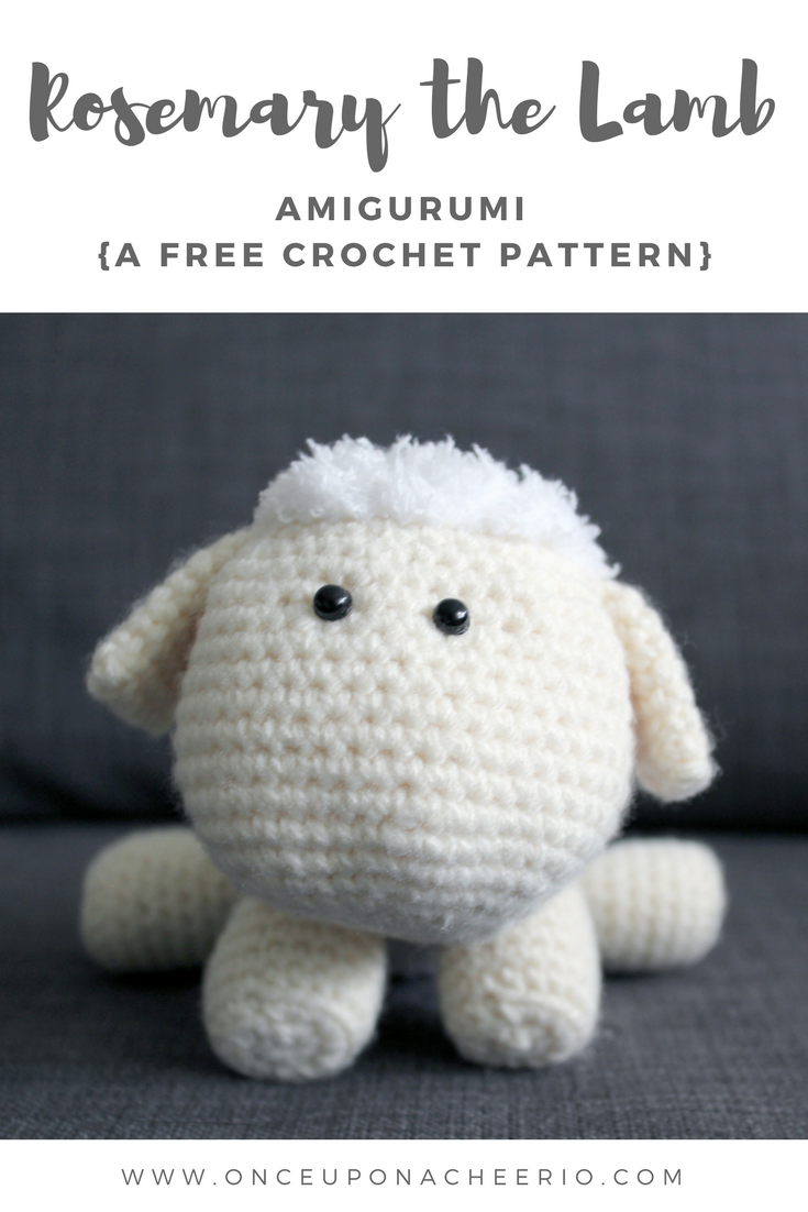 Rosemary Lamb Free Crochet Pattern