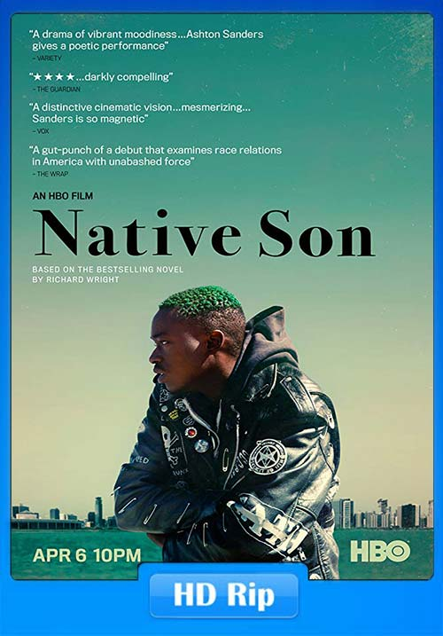 Native Son 2019 720p AMZN WEB DL x264 | 480p 300MB | 100MB HEVC