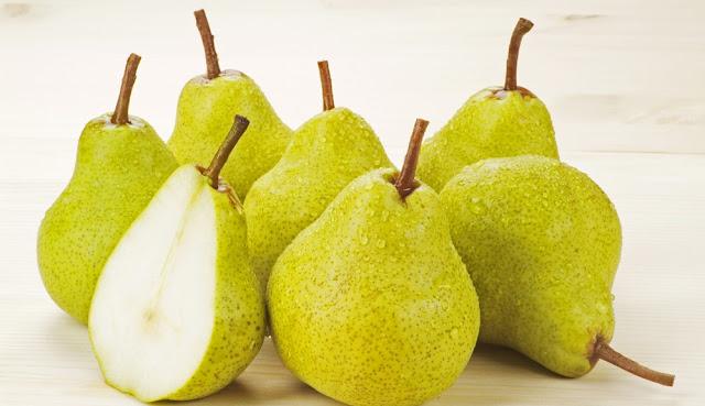 فوائد فاكهة الإجاص الصحية