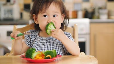 sayur, buah, anak, susah makan,