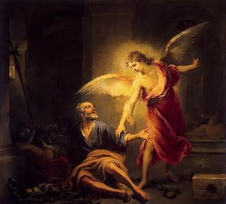 San Pedro liberado por el ángel - The State Hermitage Museum San Petersburgo 1667