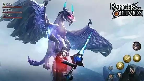 حراس النسيان: مطاردة جيدا ، الحارس! Rangers of Oblivion ألعاب لعب الأدوار RPG