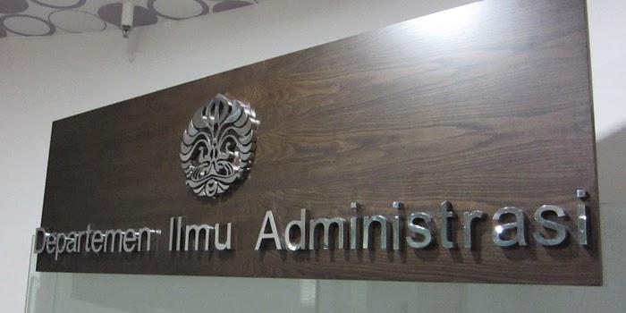 Departemen Ilmu Administrasi di FISIP UI (via mirunasays)