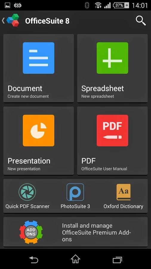 OfficeSuite 8 + PDF Editor Premium v8.5.4647