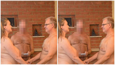 Photos: Couple Marry Naked In Front Of 40 Naked Guests