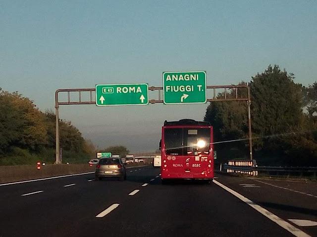 Atac: i nuovi bus in viaggio verso Roma