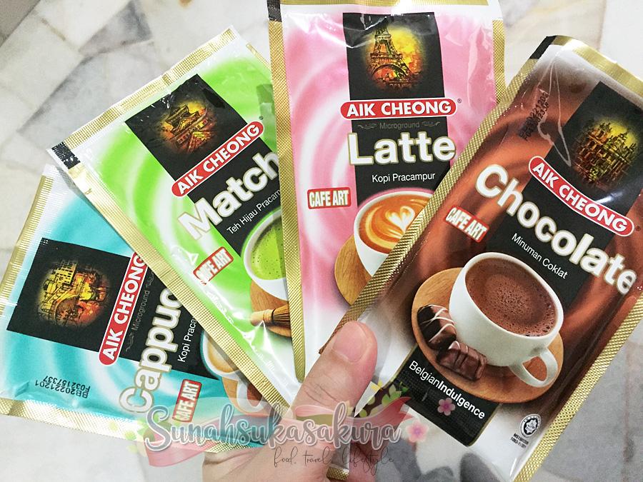 Aik Cheong Cafe Art Variety Pack