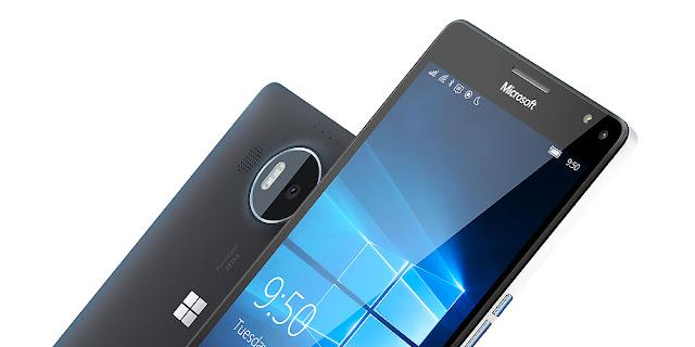 تعرف على أول هاتف ذكي من مايكروسفت يفتح عبر بصمة العين