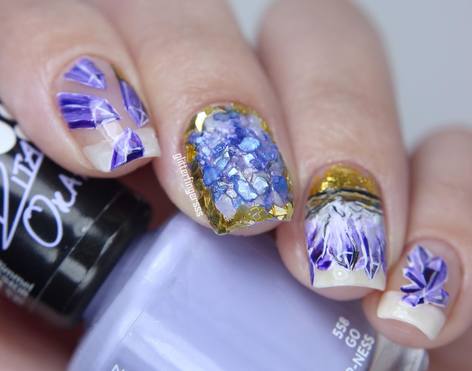 Amethyst Jewel Manicure