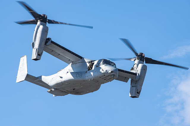 V-22 Osprey 500000 flight hours