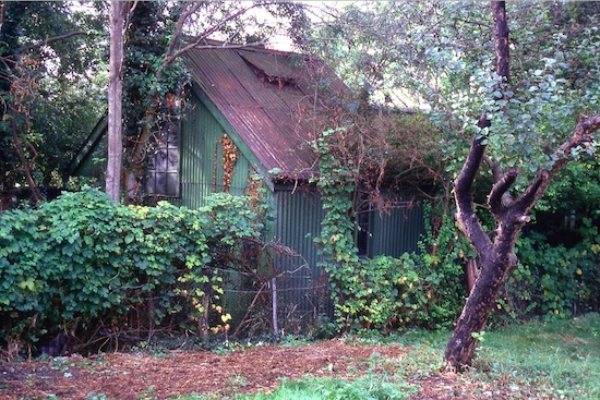 The mission hut Bell Bar in the 1980s Image from the former North Mymms Local History Society