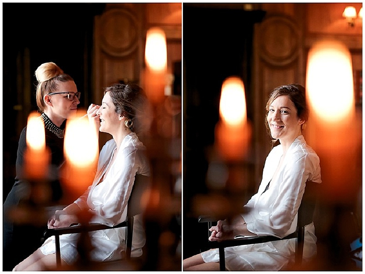 chateau vaux le vicompte bougie photographe mariage