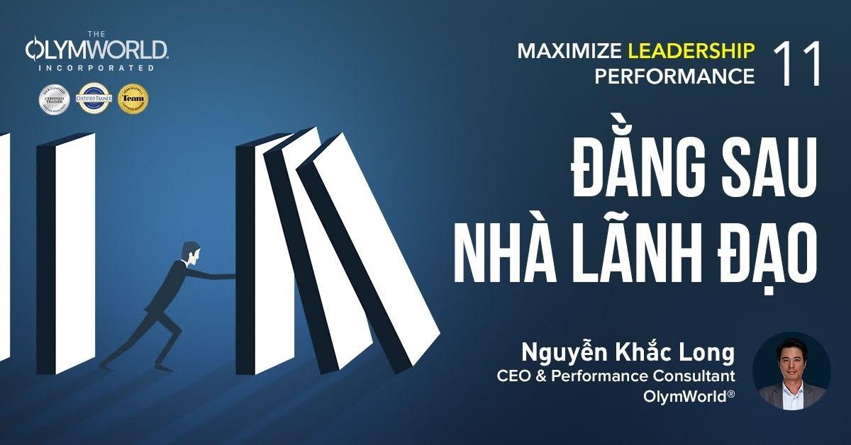 Đằng sau Nhà lãnh đạo - Nguyễn Khắc Long