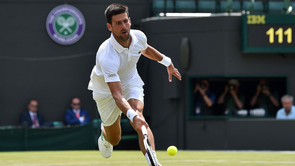 Novak Djokovic Cruise Into Wimbledon Round of 16 with a 6-4, 6-1, 7-6(2) Straight Set win Over Ernests Gulbis