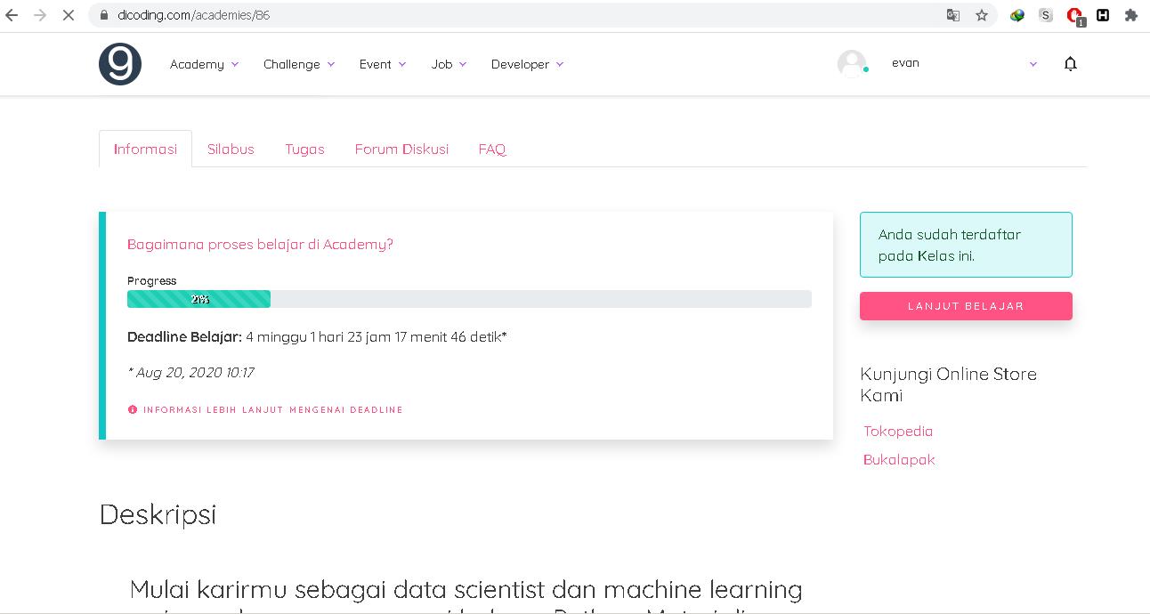 Cara Mendaftar Beasiswa Machine Learning Developer dari Dicoding