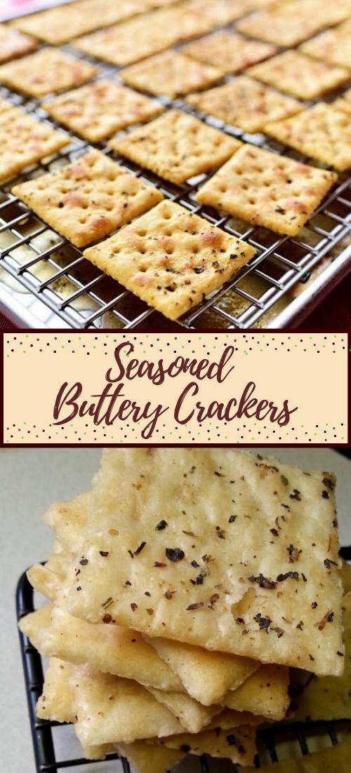 Seasoned Buttery Crackers #healthyfood #dietketo #breakfast #food