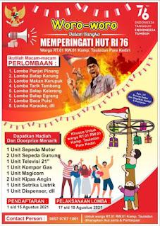 Desain Poster Lomba 17 Agustus PSD