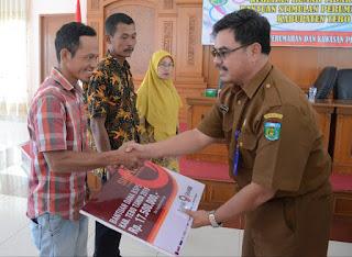 Sekda Tebo : BSPS Kabupaten Tebo Bertambah Menjadi 1.060 Unit di 2019
