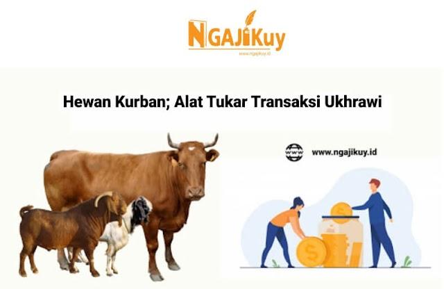Hewan Kurban; Alat Tukar Transaksi Ukhrawi