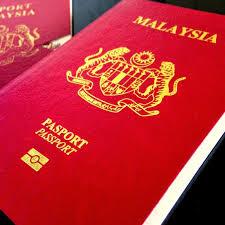 beda passport dan visa