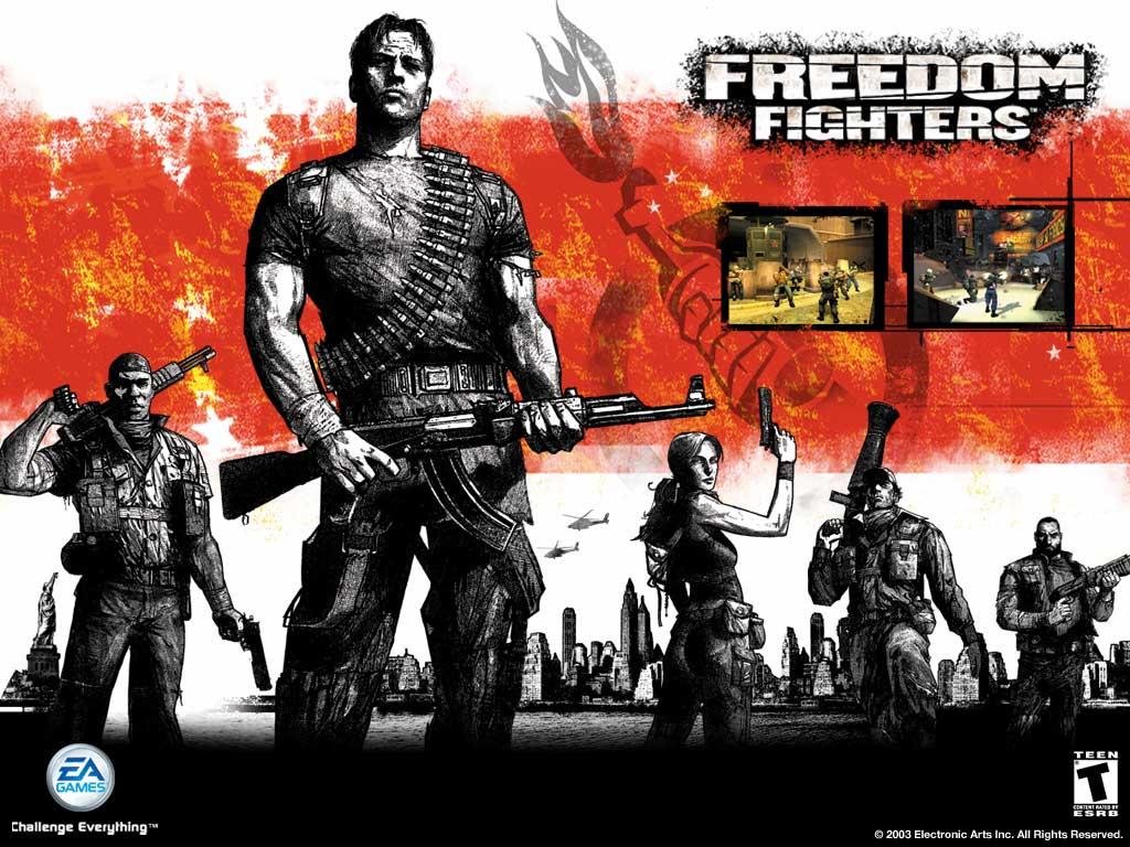 تحميل لعبة الأكشن والمغامرة Freedom Fighters