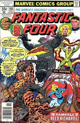 Fantastic Four #188, the Molecule Man