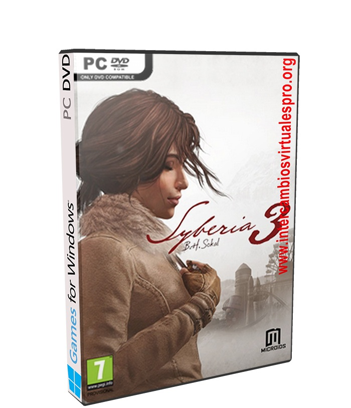 Syberia 3 poster box cover