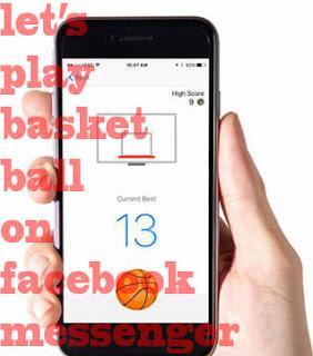 Fitur Baru Dari Facebook Bermain Basket Di Facebook Messenger