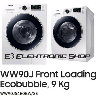 Front Loading with Ecobubble WW90J