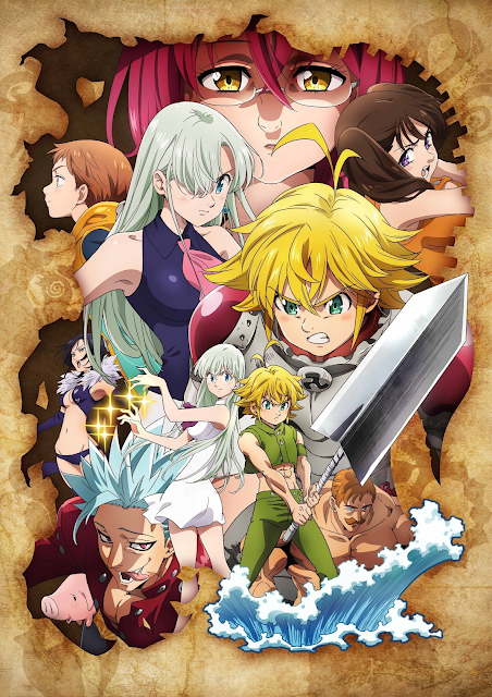 The Seven Deadly Sins Wrath of the Gods
