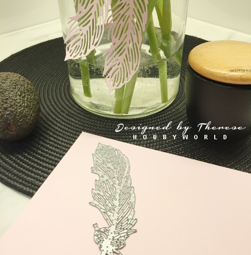 Sizzix die, Delicate Feather by Samantha Barnett