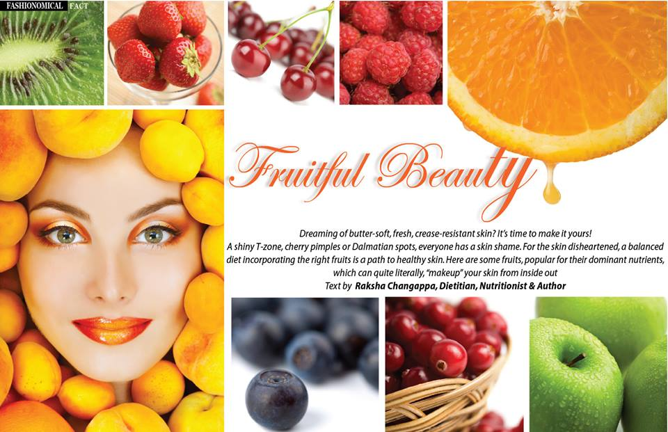 A beautiful clear skin diet should include dairy products, fresh fruits and vegetables, whole grain cereals, as well as meat that will offer your body and implicitly your skin all the nutrients it needs for functioning well.