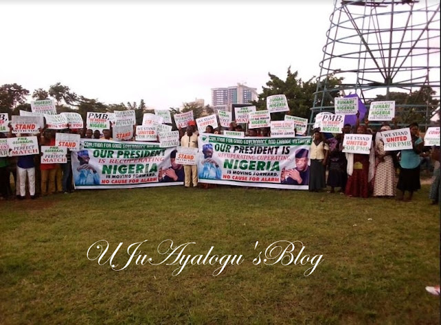 Confusion in Buhari's camp as Pro-Buhari groups fight dirty in supremacy battle