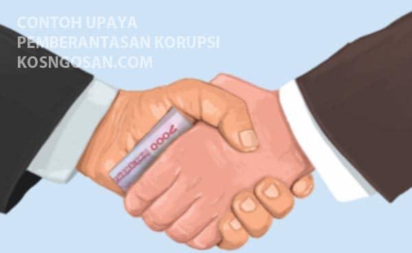 upaya pencegahan korupsi