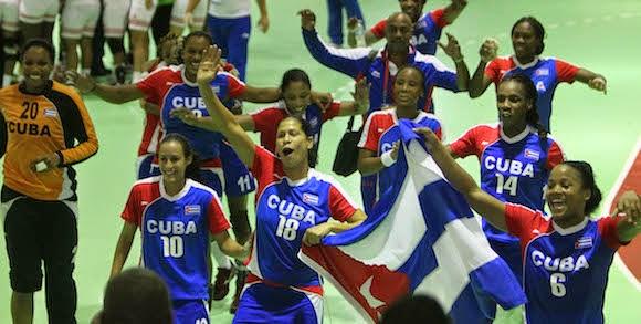 Cuba campeón enVeracruz 2014 - Handball femenino | Mundo Handball