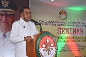 Buka Seminar DWP Kab.Kep. Selayar, Begini Arahan Wakil Bupati