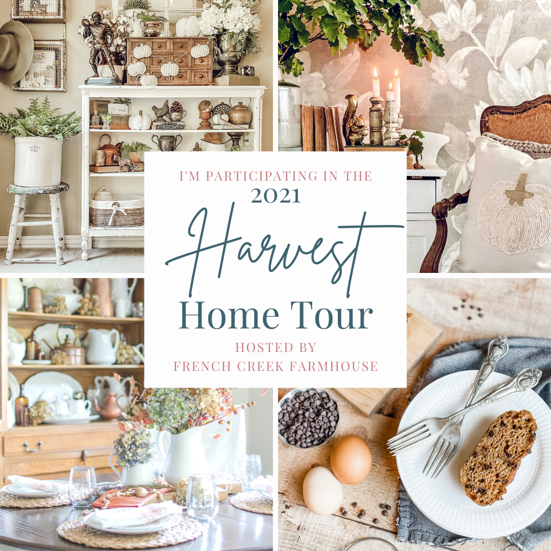 Harvest Home Tour 2021 - Our Fall Entryway - Happy September, y'all! And Welcome to our Fall Entryway tour!