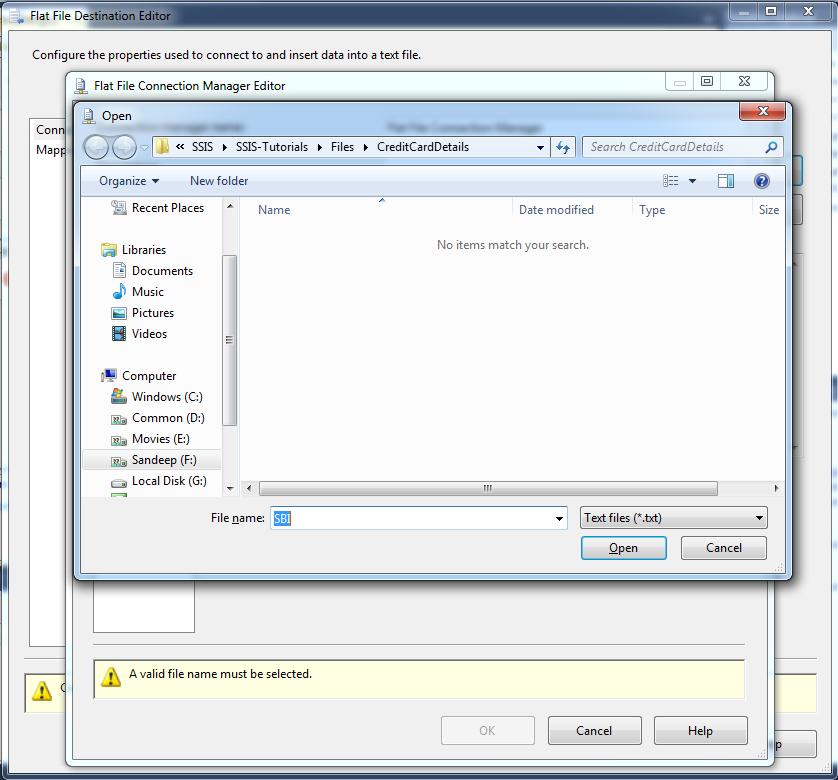 Browse File Path