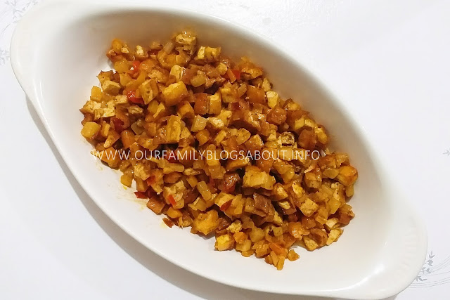 bopis, recipe, vegan bopis, vegan recipe, tokwa recipe,
