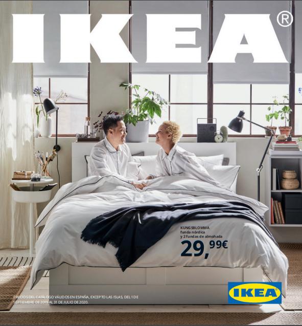 portada catálogo ikea 2020 dormitorio decoración