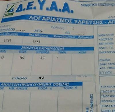 Αποτέλεσμα εικόνας για agriniolike δ.ε.υ.α ο  καινουργιο