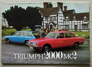 Chamberlin & Sons Ltd, Aylesbury Triumph 2000 Mk2 brochure 1973