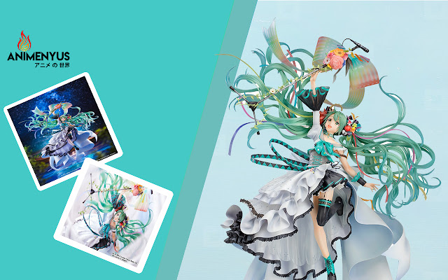 Figure Hatsune Miku Memorial Dress Mendapatkan Video Promosi
