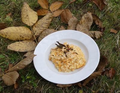 Kürbis-Risotto aus gebackenem Butternut mit Salbei nach Jamie Oliver