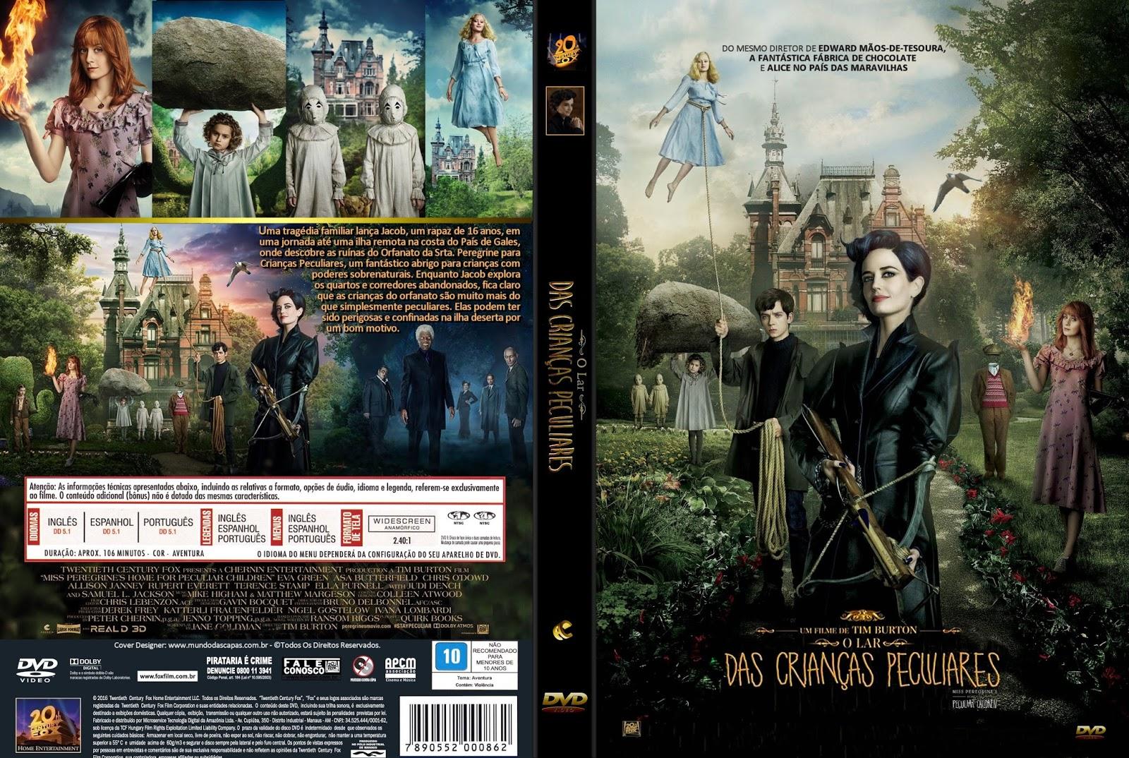 Download O Lar das Crianças Peculiares DVD-R