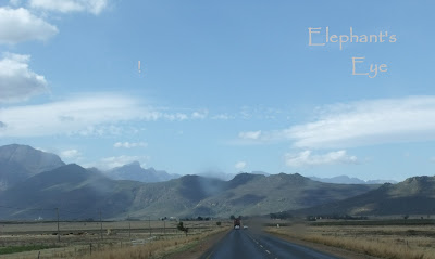 Heading home to Porterville via the Tulbagh mountains in April 2010