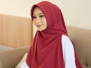 Model Jilbab Syari Terbaru Bahan Adem