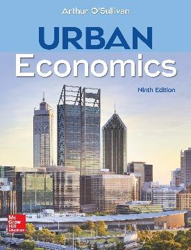 Livro: Urban economics / Autor: Arthur O'Sullivan